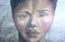 "Picture of Khosian, South African, Sarah Baartman aka Hottentot Venus.  Please click picture for a lovely poem by written by Diana Ferrus, of Khoisan descent, entitled ""A poem for Sarah Baartman"" while she was studying in Utrecht, Holland."